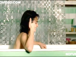 Spanish Celeb Ana De La Reguera Stripped in the Bathtub - Hot Membrane Scene