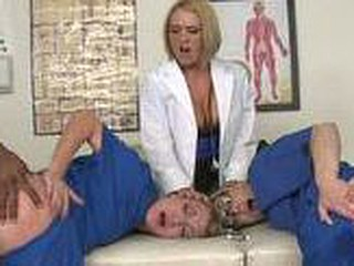 The nurses and Dr. Krissy take flexuosities procurement pounded.