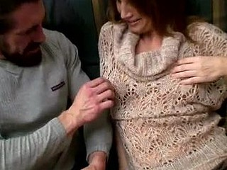 Sizzling red headed mother i'd like to fuck gets pounded by a burly dude with a lengthy schlong