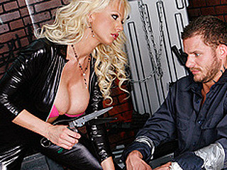 When there's trouble-a-brewing, Jack boner gets a call. It's his job to save the day and his mission to save sexy whores from insidious villains. However, this makes him a target for terrorists like Tanya. This Babe has her mission as well and this sweetheart will stop at no thing to complete it.