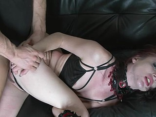 Legal Age Teenager Slave Likes Licking The Luscious Rectal Hole Of Her Slaver