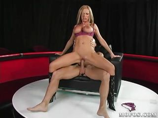 nikki benz's big tits bounce while their way pussy is fucked