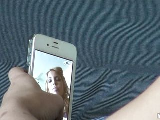 Young blonde honey Krystal is taking photos of herself with her phone. Her boyfriend is filming her, well, mostly her ass, and this chab brings up the promise she made that this chab could do anal with her. It'll be her first time, and she's scared it'll hurt, but hey, a promise is a promise.