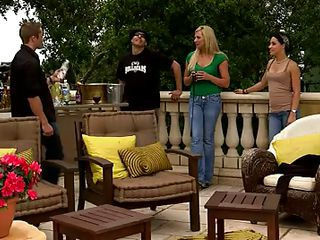 things get debauched on the terrace @ season 3, ep. 8