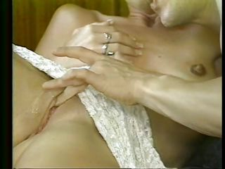skinny blonde receives the brush pussy debilitated