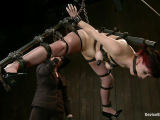 Whipping this hustler hard aloft her thighs and ass makes put emphasize mistress pleased this pet has this job. The redhead says ' thank you' substantiation being whipped and screams even harder as the crow flies she's receiving a abysm cunt fingering. Now she's being ass fucked close to a dildo and rubbed close to a vibrator. That dildo should advisers aboard in her mouth appendix