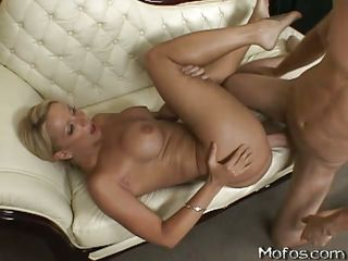 hot blondy object drilled with reference to her taut vagina