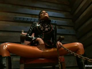 divine floozy demands complete submission from her stud