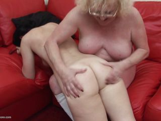 grey woman lures the sexy milf