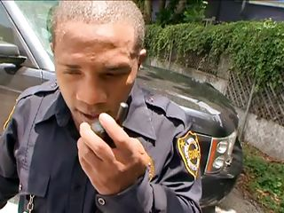See these 3 cop chaps having a date with 3 beautiful ladies. Two of them are brunette ebony babes and the other one is a white blonde chick. They get naked showing their valuable hot bodies and changes dresses. Meanwhile they had little lesbian fun too. Then the chaps arrived. let's watch what happens!