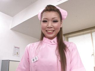 Nurse Ayumi takes her job very seriously. The only thing that counts for is to make her patient feel more excellent so, using those carnal lips she makes me feel a lot more better. The horny milf nurse decides that a hot head is more excellent then taking my temperature so she begins sucking cock like a whore. Enjoy!