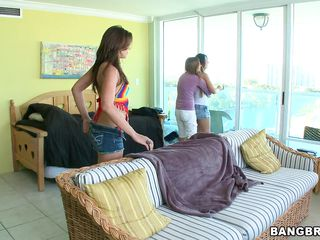 Here are three sexy ladies playing on a couch. And Here you'll discover our threesome queen Mercedes Lynn taking care of Candi Cox & Izzy Bella Blue. See Lynn sucking the juice out of Candi & Izzy's wet pussy. And when these two in nature's garb whores cuddle jointly making love Lynn starts to finger them both!
