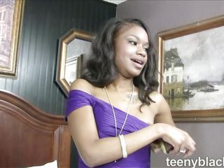 teensy-weensy handsomeness filled on touching a white cock