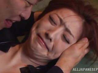 sexy japanese whore tied and fingered