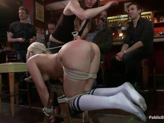 small love melons pretty blonde fastened and fucked in a bar