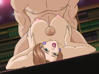 Keraku No Oh 1 - Horny Manga Sweethearts Get Fucked in an Animated Fuckfest