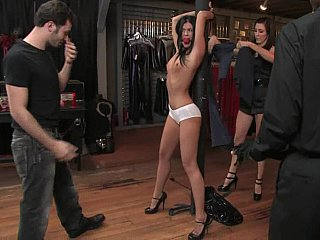 Lengthy legged India Summer gets punished