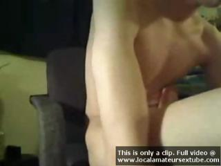 Skinny twink is able to suck his own cock as this guy jacks off