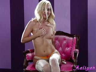 aaliyah love and her white vibrator