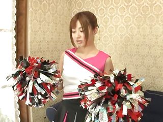 nippon cheerleader remains without panties