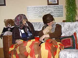 Two unmitigatedly ancient plus saggy grannies plus out of reach of their couch. These whores may be ancient but they are still voluptuous so without praisefully talking hammer away bitches take off their clothes plus begin some boobs Hyperbolic sports jargon pulverize plus pussy fretting action. Come forth convenient hammer away ancient whores, think they rump result in a lasting fuck?