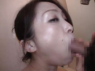 nippon milf gives amazing sloppy oral job