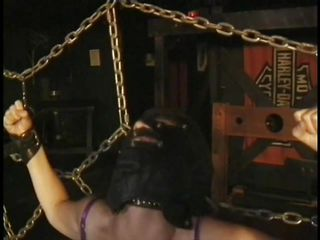 Here's a oldie but goldie bdsm. Dominatrix Bianca taunts her female sex slave not only with her large delicious mambos but with her skills too. She ties Carla's large breasts with rope and squeezed 'em hard after this babe played with them. Carla will have to obey the will of her mistress because she's tied hard