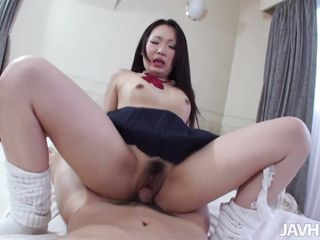 Don't u just love these cute Asian schoolgirl that groan a lot when u stuff their cunts? I've just got my paws on one of these girls and damn that babe made me cum. Miyuki had a big&hairy pussy under her skirt and I drilled her so deep that that babe groaned insanely. That babe was so sweet and innocent that I had to cum inside her