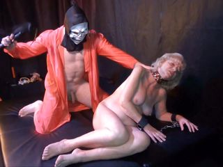 blonde ganny acquires punished hard