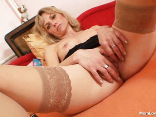 naughty mommy and her marital-device