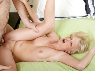 Platinum golden-haired Nubile Ziggy