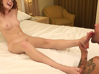 Alice Green Likes Having Her Feet Worshipped and Fucked