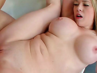 Kagney Linn Karter receiving massive pecker all round her meaty cunt