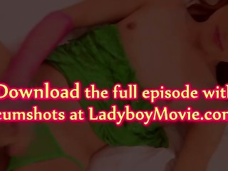 Ladyboy Aoffy Bareback plus Creampie
