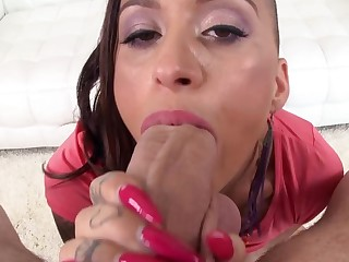 Discouraging tattooed freak named Alby Rydes is ready for some anal