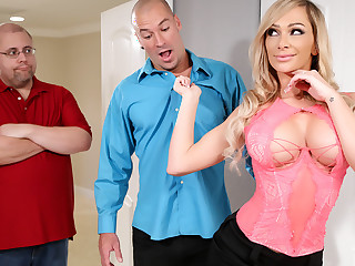 Karma Dixon & Sean Lawless more Their way Turn To Cheat - Brazzers
