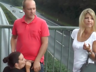 OMGP - ublic 3er auf Autobahnbrucke