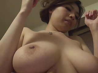 Choke-full voluptuous Japanese Yuko Iijima stripped Subtitled