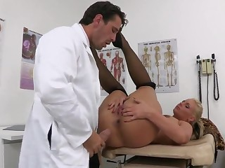 Dr. Turning-point - a doctor who administers illegal orgasms to hot and sexy female patients