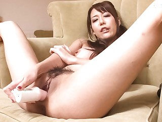 Best Japanese harpy Akari Asagiri relative to Absurd JAV uncensored Dildos/Toys video