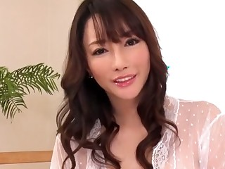 Blistering Japanese model forth Best JAV video