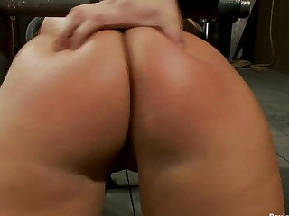 Attractive Ass Onerous Caning
