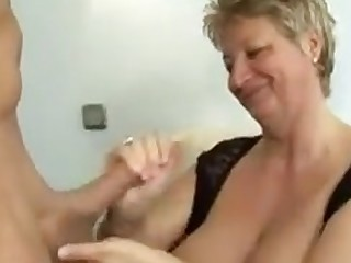 Hot Granny Relative to Big Tits Fucked