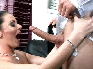 Sweet Sophie Dee is pumped, primed and ready top gush all over you! This bitch of a Brit is just waiting and ready for the right colossal cock to come along and hit the special spot that makes her explode is a slick shower of pure bitch juice!