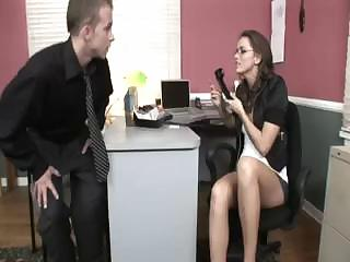 Secretary fucked on tap order