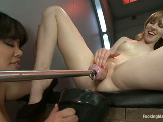 Mallory Malone acquires fisted and gadget fucked