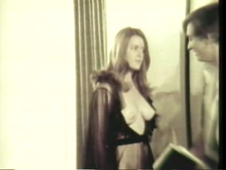 Breasty Babes Get Drilled at a Bare Halloween Sex Party - Vintage Porn Video