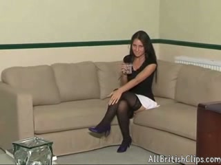 British girl arse spanking
