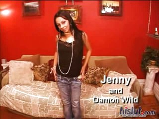 Jenny is a hot Latina bitch