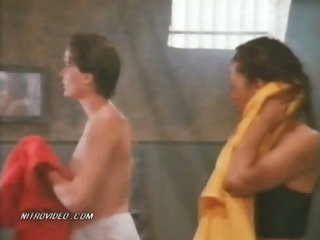 Hot Lori Jo Hendrix & Rebecca Chambers Showering in Prison